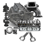 Power Kit - Pontiac Aftermarket Block, Tiger Head, & Crankshaft